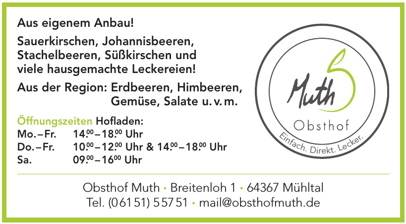 Obsthof Muth
